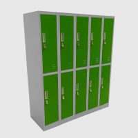 Locker verde 01