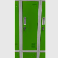 Locker verde 04